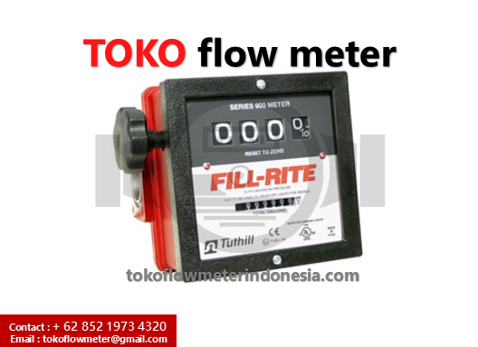 Flow Fill rite 1.5Inch - Jual Flow meter Fill-Rite DN40 - flow meter Minyak - Distributor Flow meter Minyak FLOW METER FILL-RITE 1,5 INCH. The 900 CDP is the ultimate in convenience. This meter includes all of the 900CD. Features plus it comes with a pulser and intrinsically safe barrier. It also has a backlit display for easier viewing in poor lighting and an AC power with batter backup. The 900CDP meter is approved for gasoline, diesel, kerosene, mineral spirits, Stoddard solvents, and heptanes. The 900CDP is the ultimate in convenience. This meter includes all of the 900CD features plus it comes with a pulser and intrinsically safe barrier. It also has a backlit display for easier viewing in poor lighting and an AC power with batter backup. The 900CDP meter is approved for gasoline, diesel, kerosene, mineral spirits, Stoddard solvents, and heptanes.The 900CDP is the ultimate in convenience. This meter includes all of the 900CD features plus it comes with a pulser and intrinsically safe barrier. It also has a backlit display for easier viewing in poor lighting and an AC power with batter backup.his meter includes all of the 900CD features plus it comes with a pulser and intrinsically safe barrier. It also has a backlit display for easier viewing in poor lighting and an AC power with batter backup.his meter includes all of the 900CD. Features & Benefits Meters gasoline, diesel fuel, biodiesel up to B20, kerosene, and E15 Pulser and intrinsically safe barrier included +/-1.25% accuracy +/-.25% repeatability 50 psi -40 – 176°F (-40-80°C) operating temperature 1.5 in. Inlet, 1.5 in. outlet with BSPT threads 10:1 pulse output for gallons, liters and quarts Wide power input range: 12-40 VDC; .2A and 90-240 VAC, 50-60 HZ Nutating disc technology for accurate metering and dependability with fewer moving parts UL listed Replaces model 900DP1.5BSPT